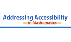 logo for: Accessibility Strategies in Mathematics -- Middle School: Online Guides