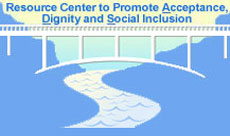logo for: Acceptance, Dignity, and Social Inclusion Associated with Mental Health:  Training Teleconferences